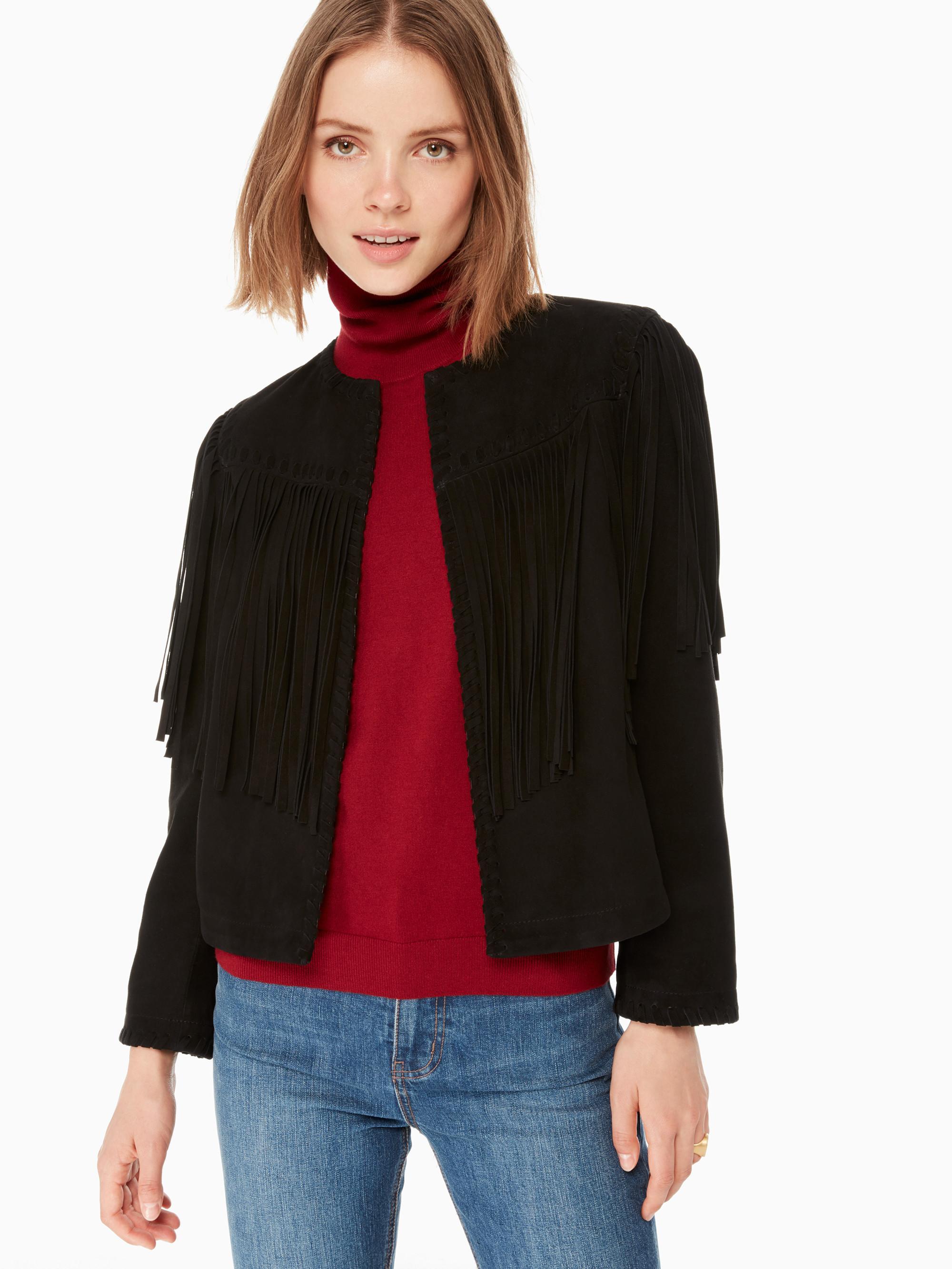 Kate Spade Daisi Jacket In Black