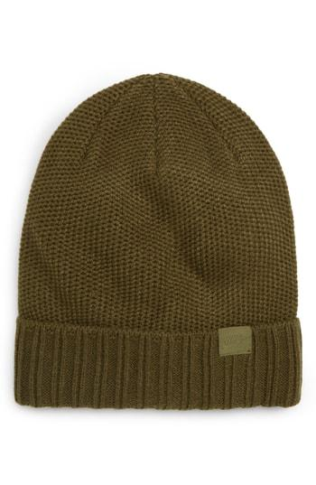 31d69393f6a Nike Nsw Beanie - Green In Olive Canvas