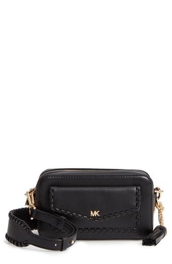 0996d7ff8b Michael Michael Kors Small Leather Camera Bag - Black