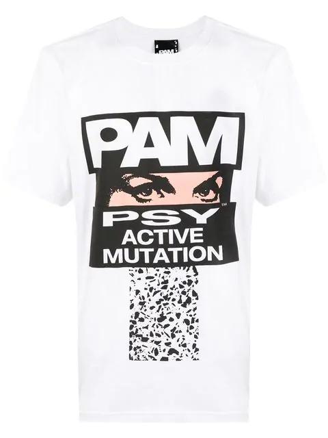 Perks And Mini Pam Tshirt In White