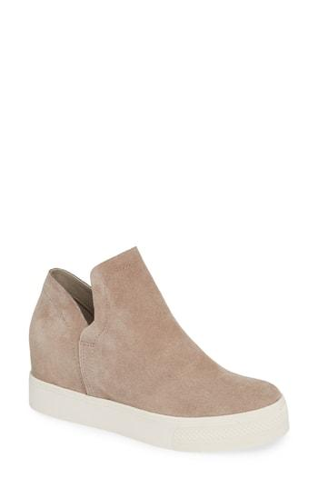 0251b8b09e3 Steve Madden Wrangle Sneaker In Taupe Suede