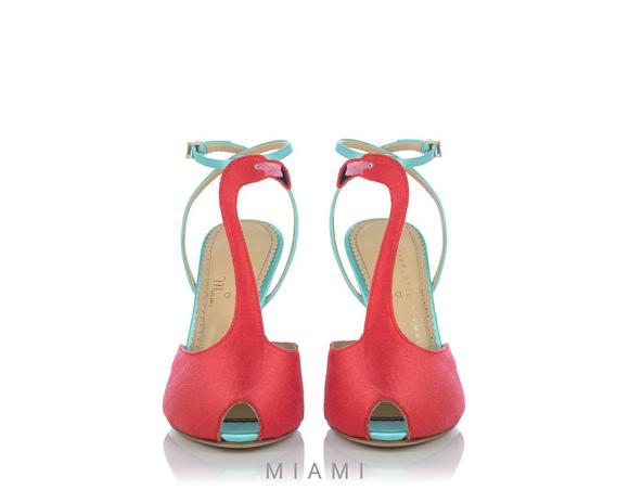 Charlotte Olympia Flamingo Sandal In Silk%20Satin_967_Baby%20Blue%2Fcandy%20Floss