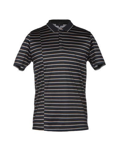 Lanvin Polo Shirt In Dark Blue