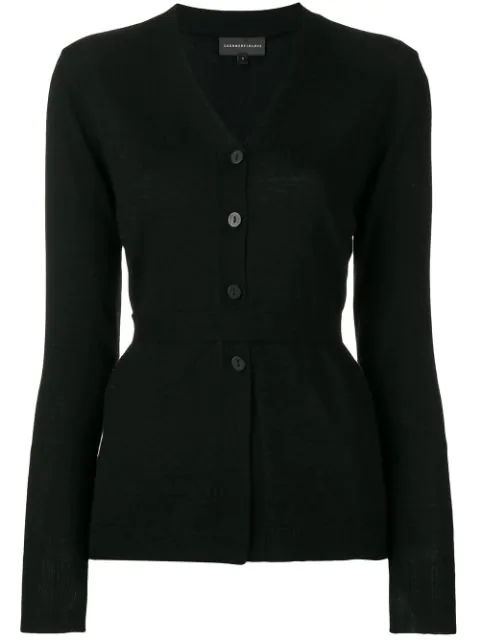 Cashmere In Love Suri Cardigan In Black