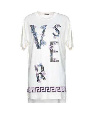 Versace T-Shirt In Ivory