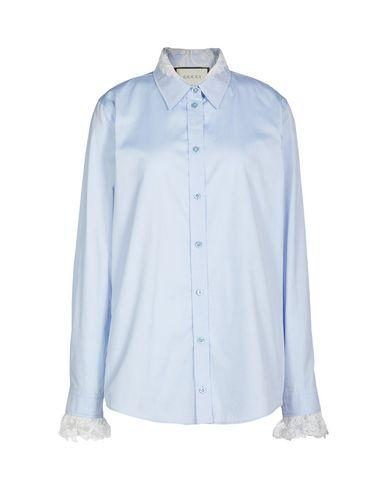 bf9677bf8 Gucci Lace Shirts & Blouses In Sky Blue   ModeSens