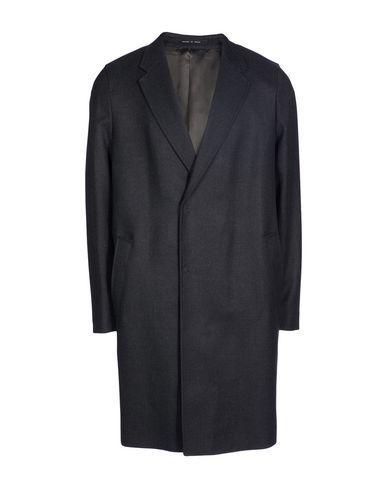 Emporio Armani Coat In Lead