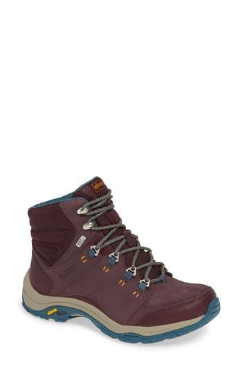 96f4f47f0e2 Montara Iii Waterproof Hiking Boot in Deep Wine Nubuck Leather