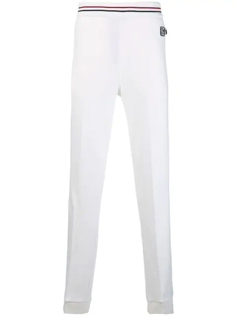 Z Zegna Straight Leg Track Pants In Nt1 White