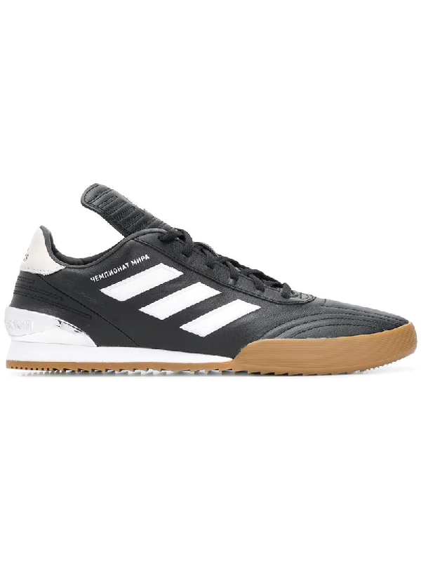 422d5e7e7 Gosha Rubchinskiy Black Adidas Originals Edition Gr Copa Wc Super Sneakers  In Black 1