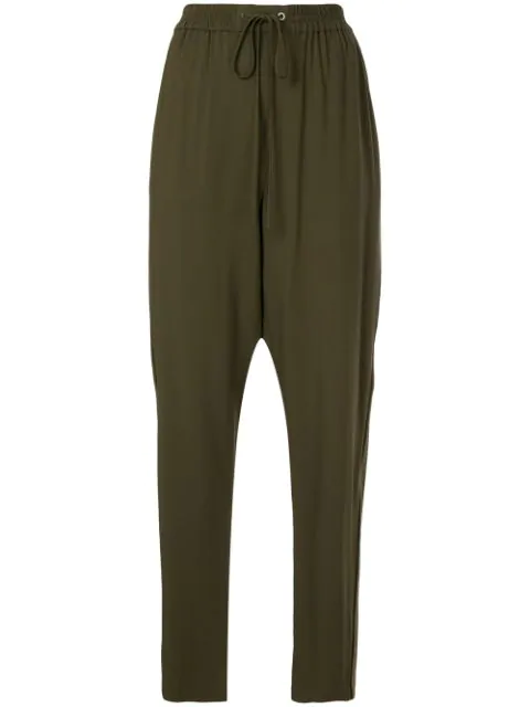 3.1 Phillip Lim Tailored Track Pants In Green
