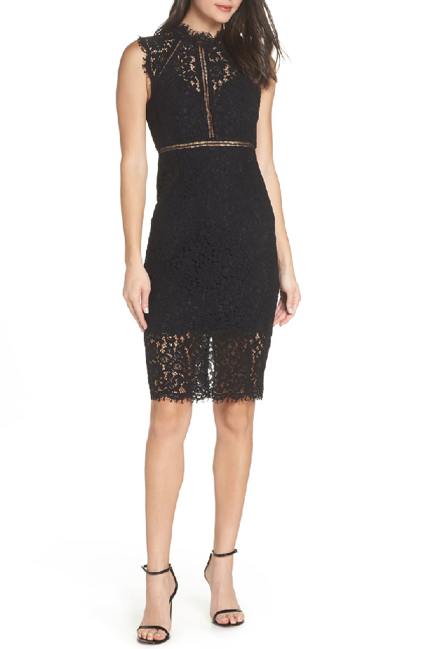 7c28495ee462 Bardot Lace Sheath Dress In Black | ModeSens