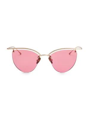 Smoke X Mirrors The Line 4 52Mm Cateye Sunglasses In Matte