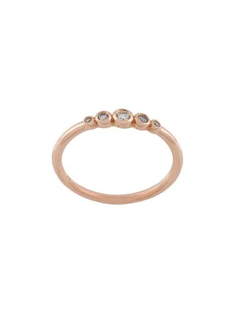 Astley Clarke Rose Gold Icon Nova Mini Diamond Ring