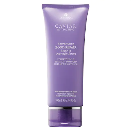 Alterna Haircare Caviar Anti-aging® Restructuring Bond Repair Leave-in Overnight Serum 3.4 oz/ 100 ml
