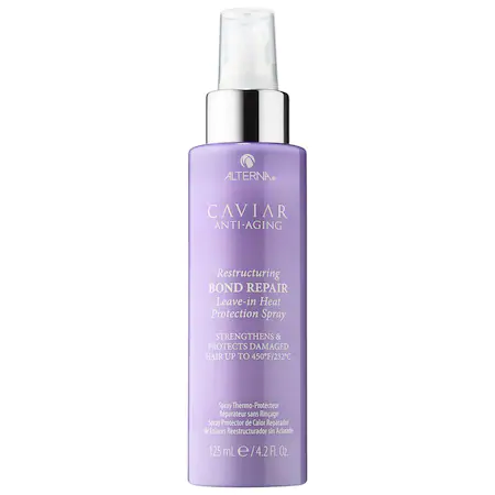 Alterna Haircare Caviar Anti-aging® Restructuring Bond Repair Leave-in Heat Protection Spray 4.2 oz/ 125 ml