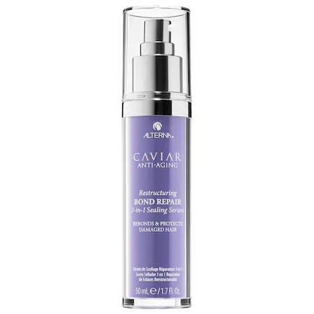 Alterna Haircare Caviar Anti-aging® Restructuring Bond Repair 3-in-1 Sealing Serum 1.7 oz/ 50 ml