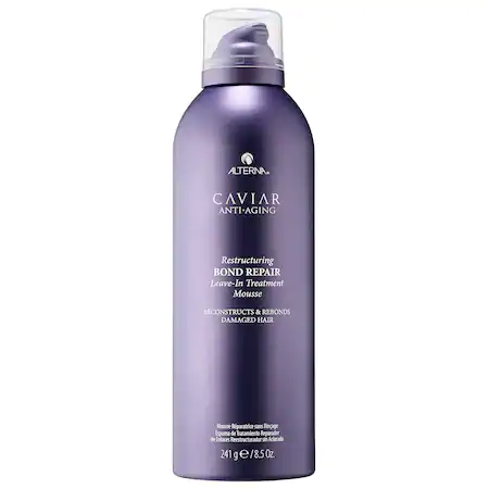 Alterna Haircare Caviar Anti-aging® Restructuring Bond Repair Leave-in Treatment Mousse 8.5 oz/ 241 G