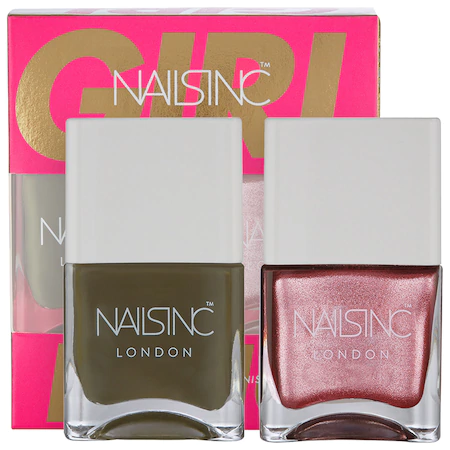 Nails Inc. Girl King Nail Polish Duo