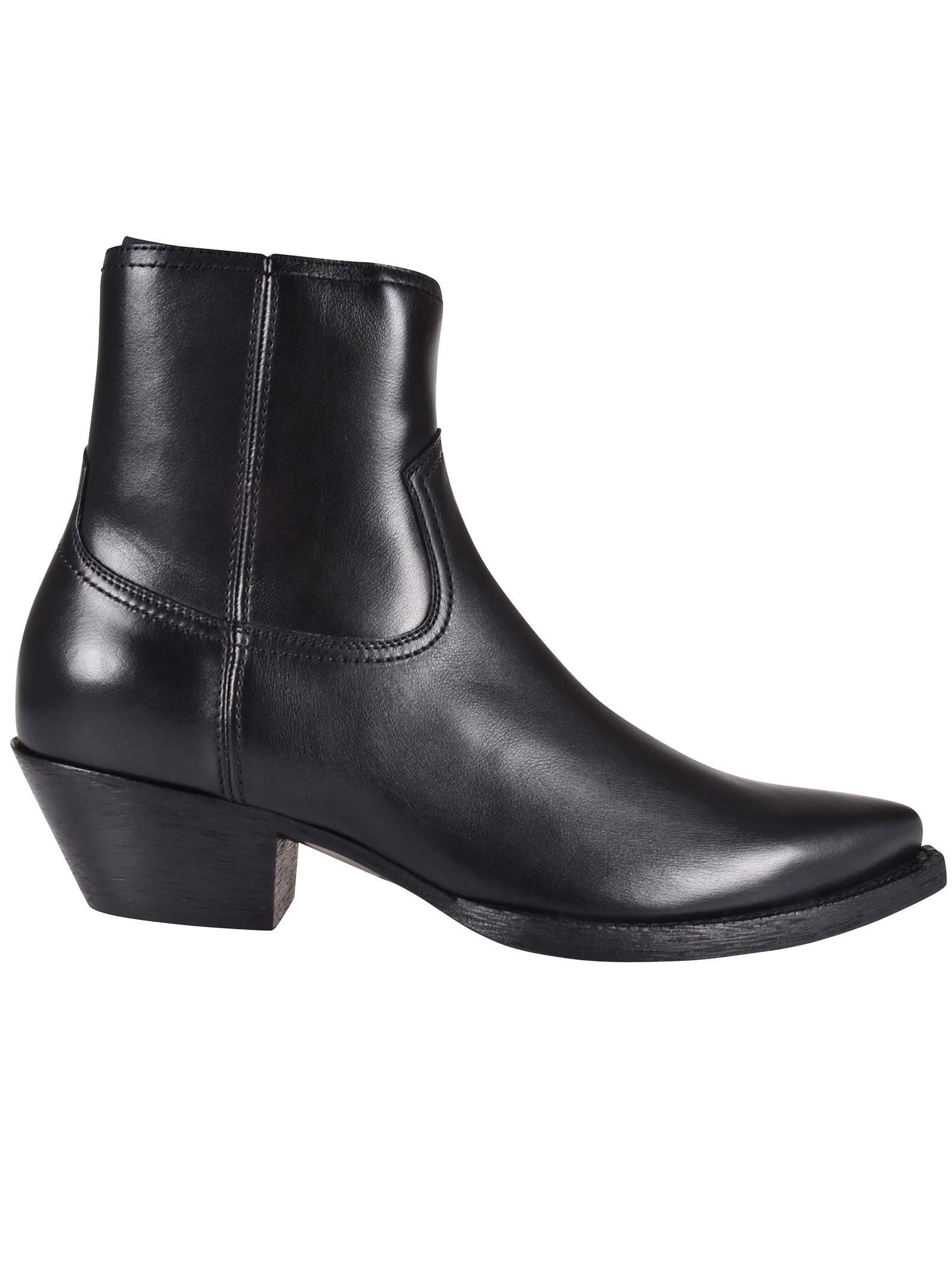 256adb94f33 Saint Laurent Camperos Ankle Boots In Nero | ModeSens