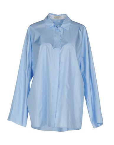 Nina Ricci Silk Shirts & Blouses In Sky Blue