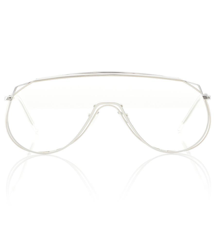 959915242068 Gentle Monster Afix 02 Sunglasses In Silver