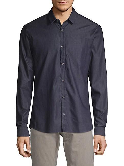 6fe13b89e Hugo Hugo Boss Ero Classic Button-Down Shirt In Navy | ModeSens