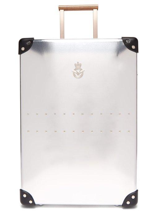 "26efdc889b0 Globe-Trotter X Raf 20"" Aluminium Suitcase In Silver | ModeSens"