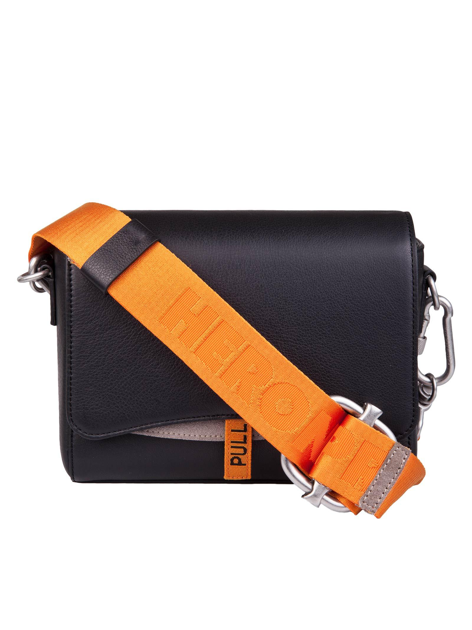 497c016a5db5 Heron Preston Shoulder Bag In Nero Arancione