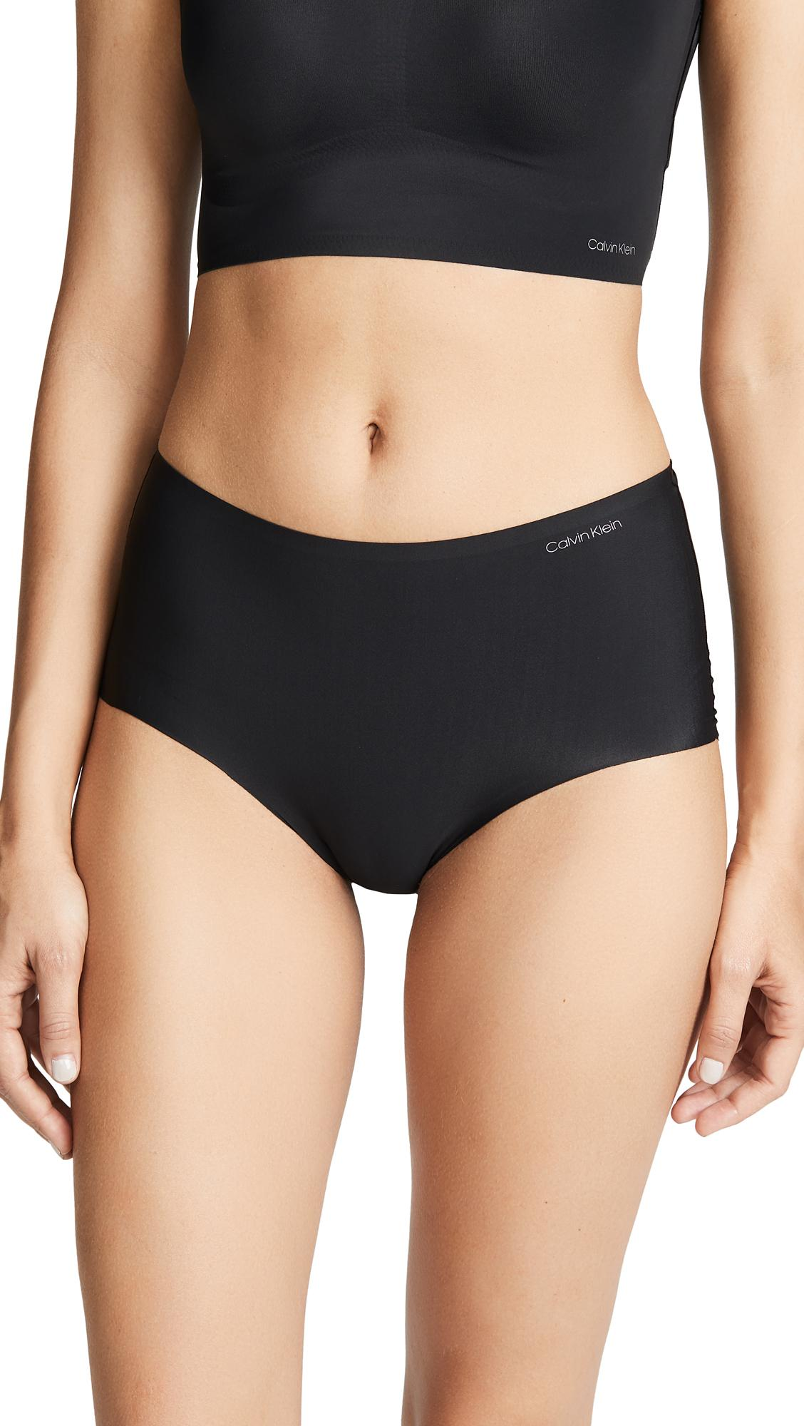2ca3550ea2cbd Calvin Klein Underwear Invisibles High Waist Hipster In Black | ModeSens