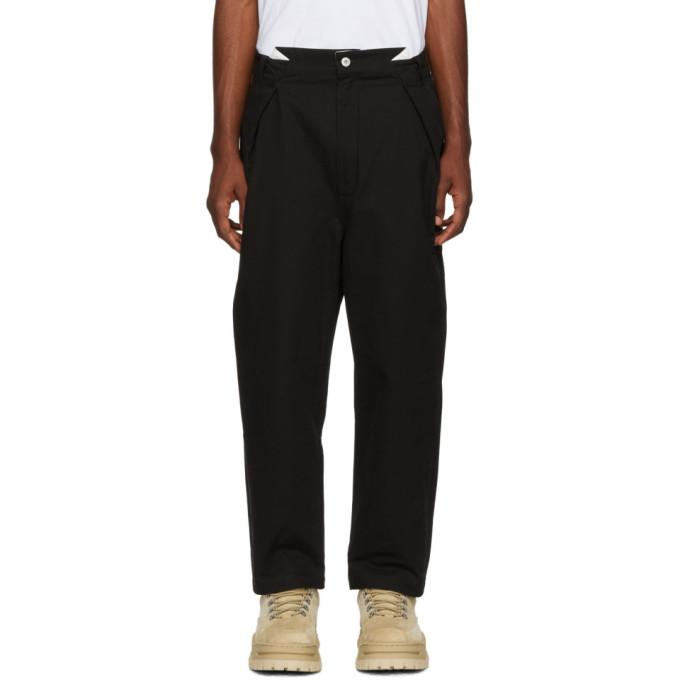 Perks And Mini Black Reno Chino Trousers