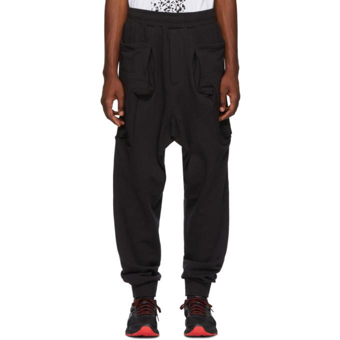 Perks And Mini Black Research Duplo Lounge Pants