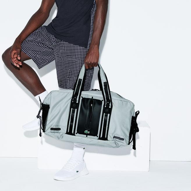 3ff9a5b0 Men's Lacoste Sport Match Point Nylon Roll Bag in High-Rise Black