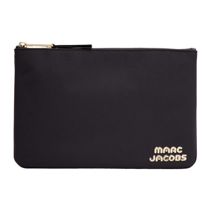 2ab4b5adf77a Marc Jacobs Black Medium Pouch In 001 Black