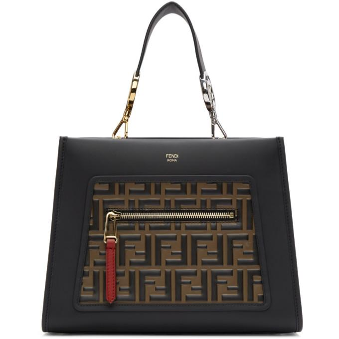 Fendi Black Small Forever  Runaway Bag In F13Wb Multi