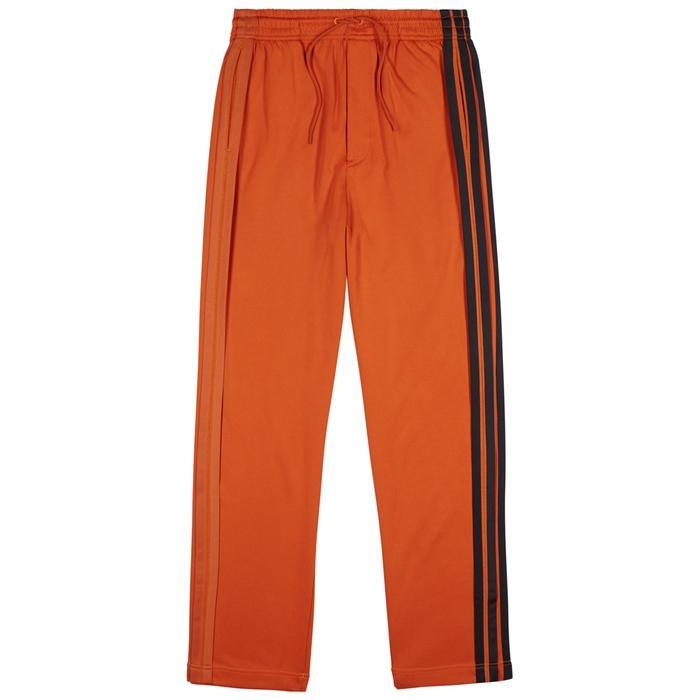 3e81c5a1bde Y-3 Wide-Leg Jersey Jogging Trousers In Orange   ModeSens