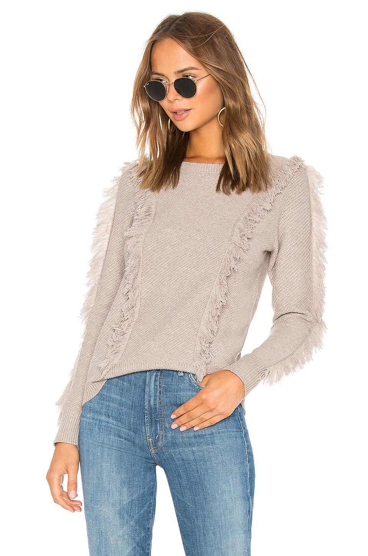 Majorelle Sirelle Sweater In Mauve. In Camel