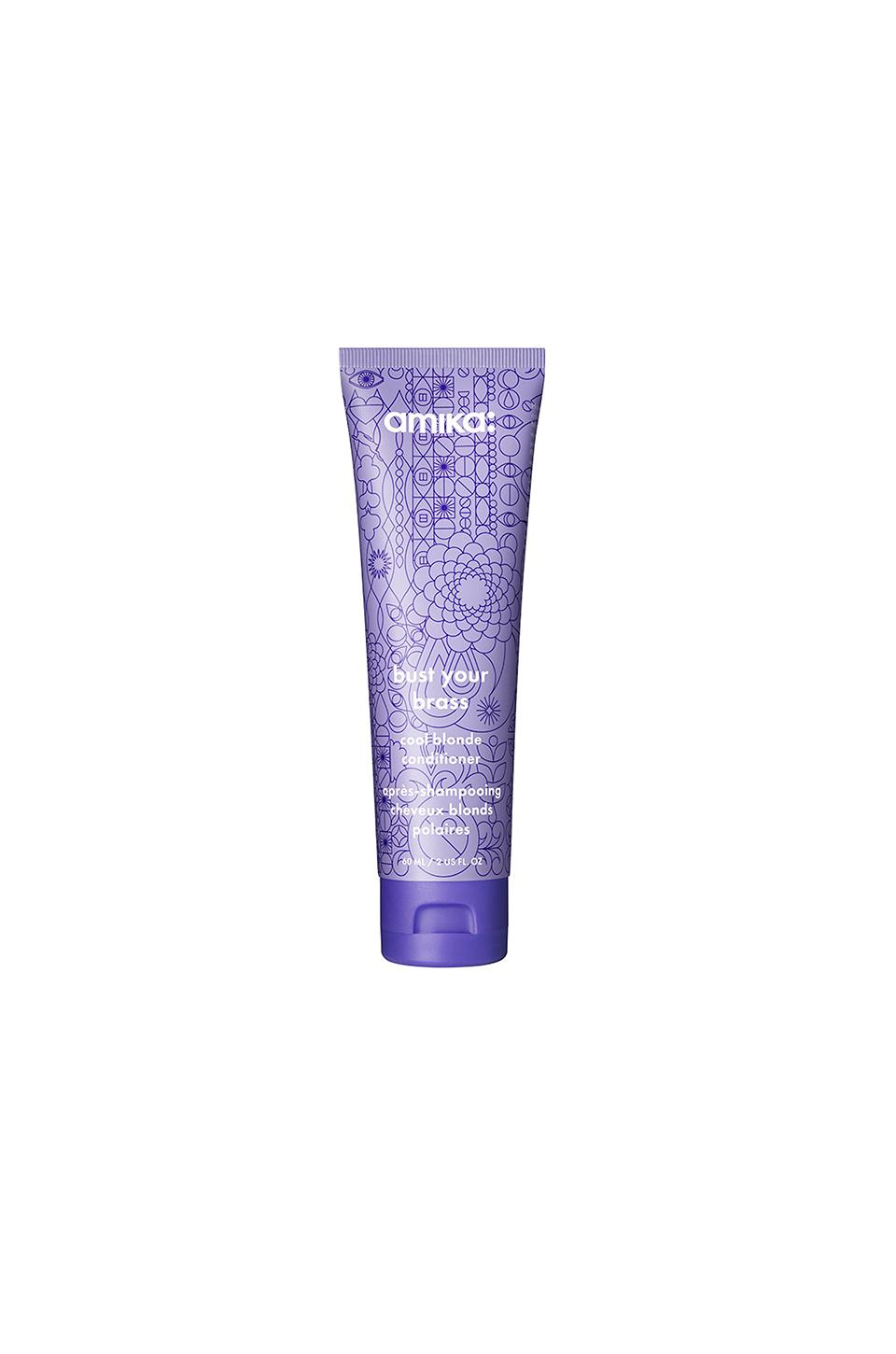 Amika Travel Bust Your Brass Cool Blonde Conditioner In Beauty: Na. In N,A