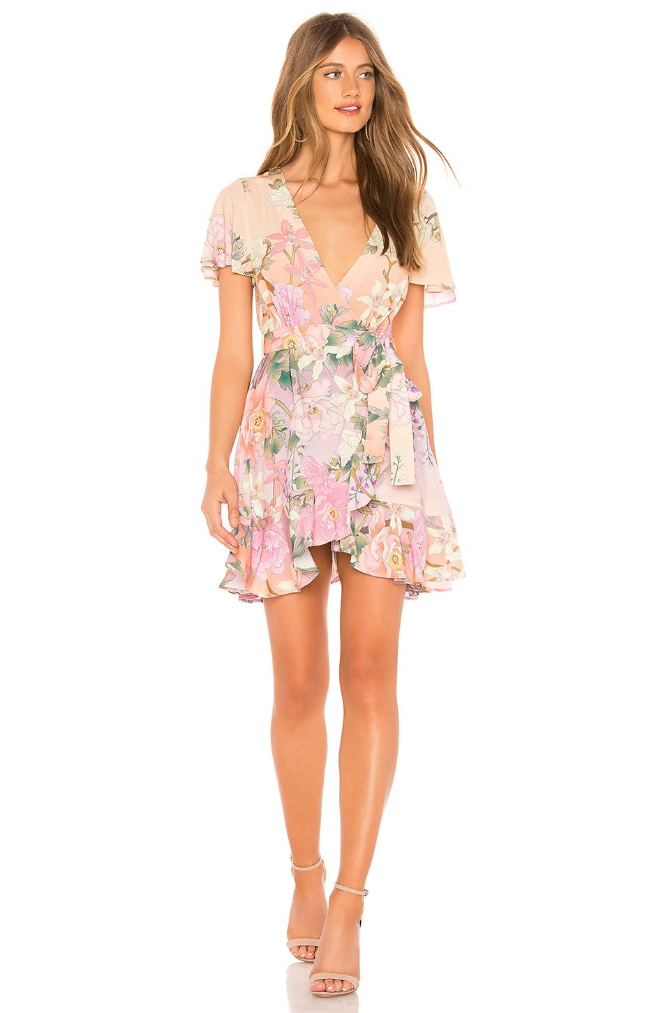 8b9aac48bb Spell   The Gypsy Collective Lily Mini Dress In Pink