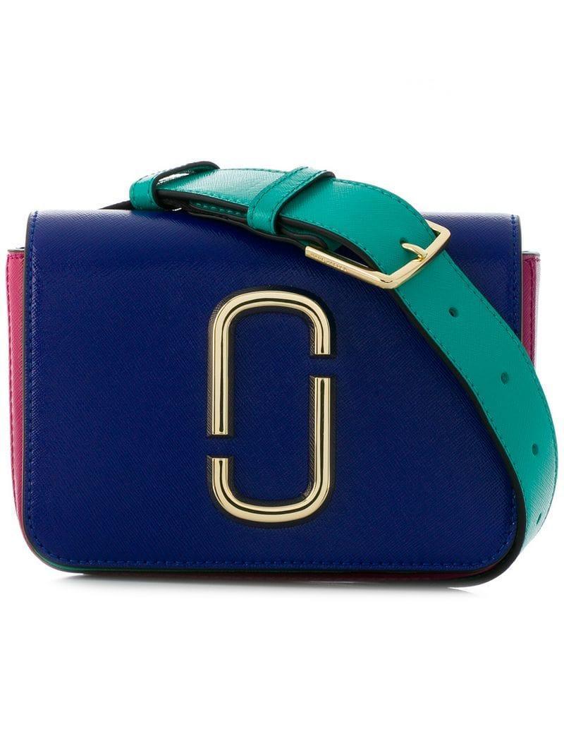 8d05dd37158531 Marc Jacobs Hip Shot Belt Bag - Farfetch In 462 Academy Blue Multi ...
