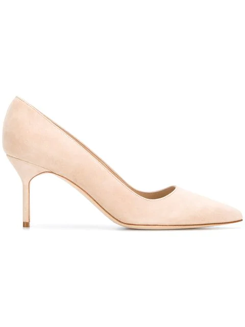 Manolo Blahnik Bb Pumps In Neutrals