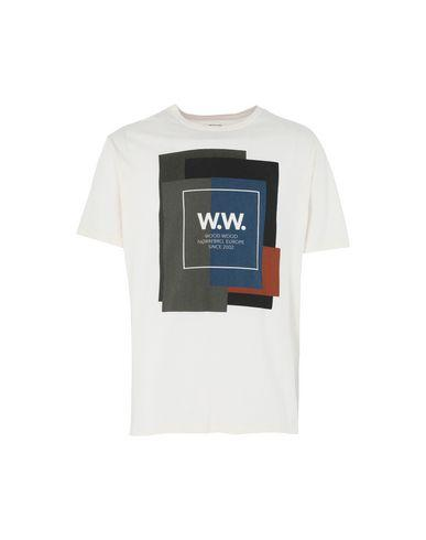 Wood Wood T-shirt In Ivory