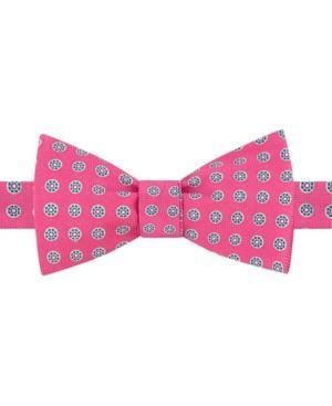 38baba5c2 Tommy Hilfiger Men's Medallion To-Tie Silk Bow Tie In Pink | ModeSens