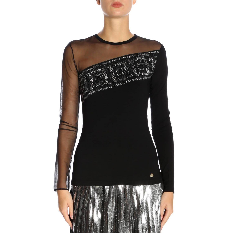 e13ff64334517e Versace Top Top Women Collection In Black   ModeSens