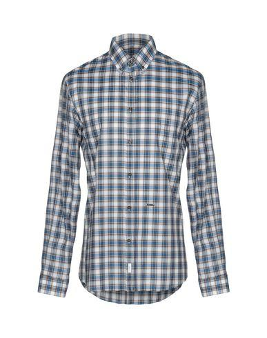 Dsquared2 Checked Shirt In Blue