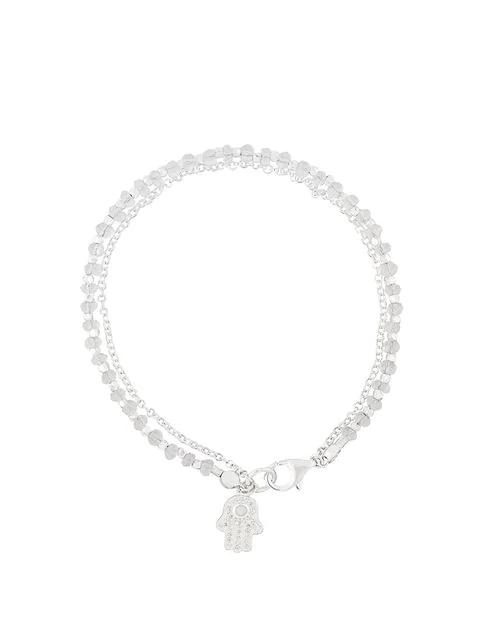 Astley Clarke Hamsa Biography Bracelet In White