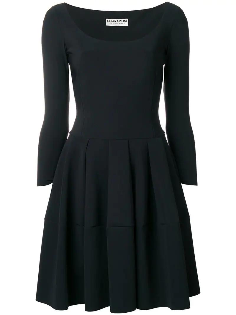 d0ddc765325 Le Petite Robe Di Chiara Boni Skater Dress - Black