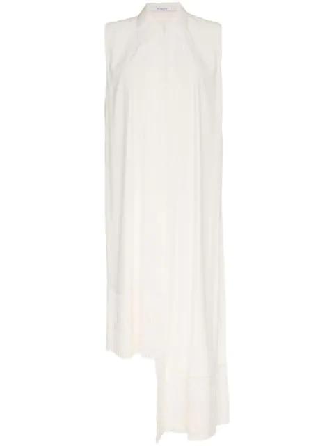 Givenchy Oberteil Mit Fransensaum - Weiß In White