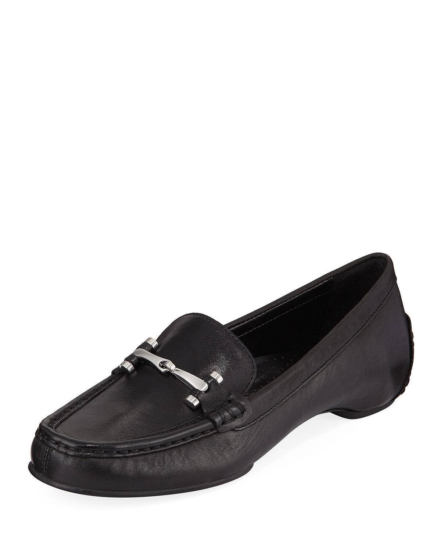 1e8a1e16dc8 Donald J Pliner Filo Burnished Leather Moc Loafers