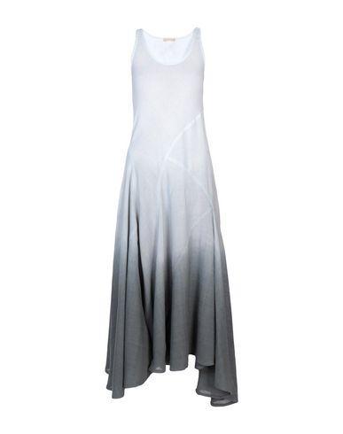 Michael Kors Long Dress In Light Green